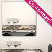 Custom Square Wall Mirror