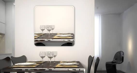 Custom Square Wall Mirror