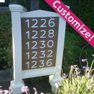 Customize your own Outdoor Sign