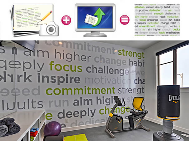 personalized your own motivational words mural dezign motivational murals murals your way