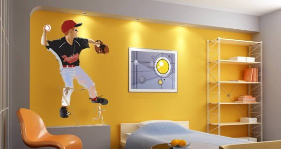 Make your own wall decals