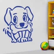 Cute Puppy wall decals