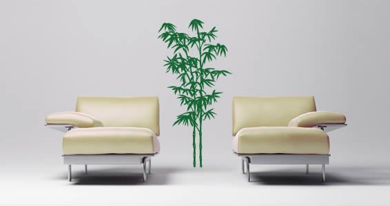 Bamboo Tree wall decals