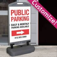 WindSign Deluxe Sandwich Board