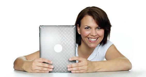 Diamond Plate skin for iPads