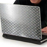 Diamond Plate laptop decals skin