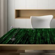 Matrix Dry Erase Furniture Skin Decal