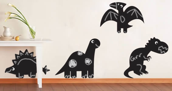 Dino Animals wall clings