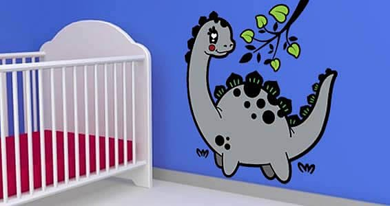 Dinosaurs wall decals for nurseries  sc 1 st  Dezign With a Z & Dinosaurs wall decals for nurseries   Dezign With a Z