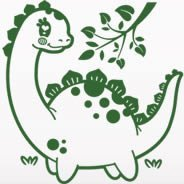 Dinosaur wall stickers for children