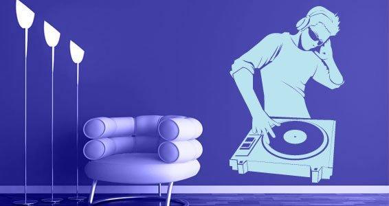 DJ Sound wall decals