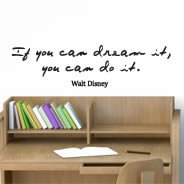 Do Dream quote decal