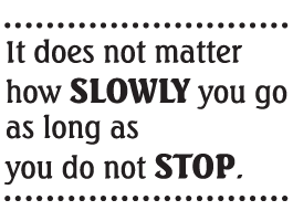 Do Not Stop quote decals