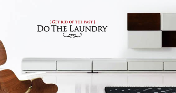 Do The Laundry Bicolor decal