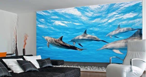Dolphin wall decals dolphin wall decals 2016 for Dolphin wall mural