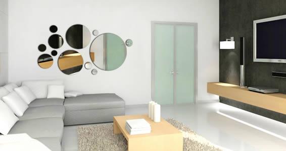 Dots Acrylic Mirror