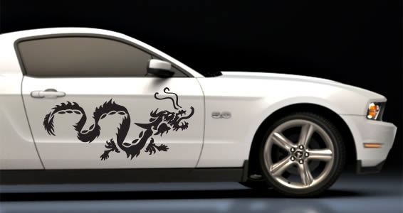 Dragon Car Decals Dezign With A Z - Design decals for cars