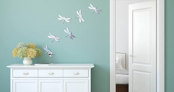 Dragonflies Acrylic Mirror