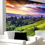 Dreamy Moutains wall murals
