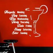Drinking Days wall decal