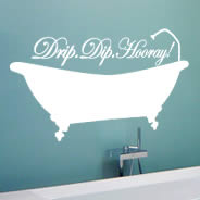 Drip Dip wall decals