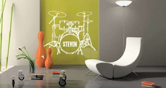 Personalized Lettering Drums | Dezign With a Z