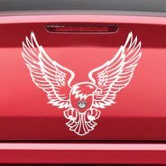 Desert Eagle car decal