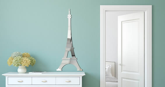 Eiffel Tower wall mirror : Dezign With a Z