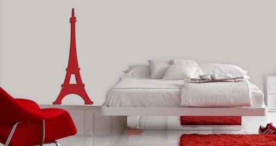Eiffel Tower wall appliques
