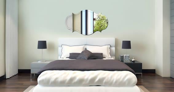 Elegant Frame wall mirror