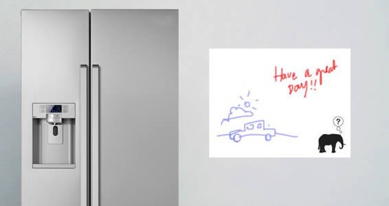 Elephant whiteboard decals