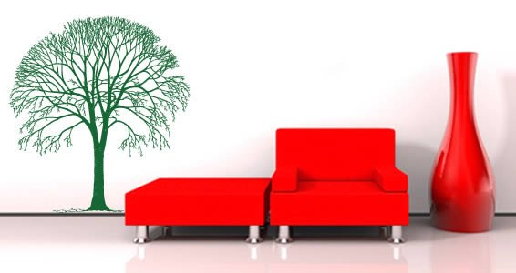 Elm Tree wall decals