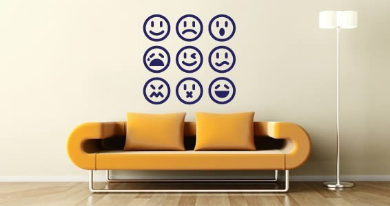 Emoticon pack decals