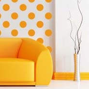 Dots modern wall decals