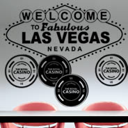 Las Vegas wall stickers