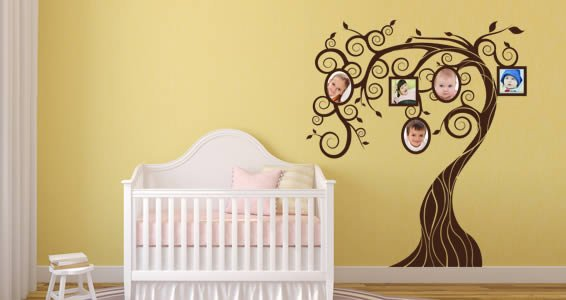 Fairy Memory Tree wall decals | Dezign With a Z