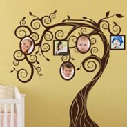 Fairy Memory Tree wall decals