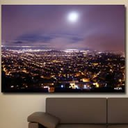 Magic San Francisco -Giclee Painting by Benoit Lloret