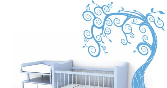 Fairy Baby Tree wall stickers