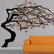 Fall Tree wall stickers