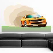 Fast Car wall decal