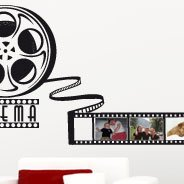 Movie Strip picture frame wall decal
