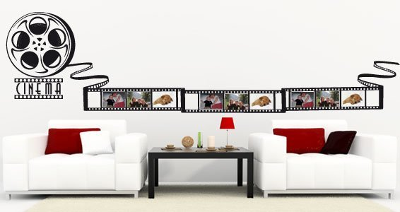 Movie Strip picture frame wall decal | Dezign With a Z