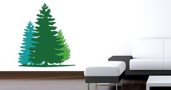 Fir Tree wall decals