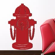 Fire Hydrants wall appliques