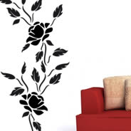 Floral 102 adhesive wall clings
