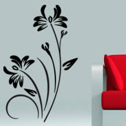 Floral 103 home wall decals