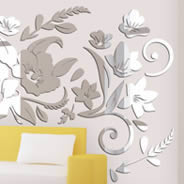 Grand Floral wall mirrors