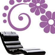 Flower 04 vinyl wall decals
