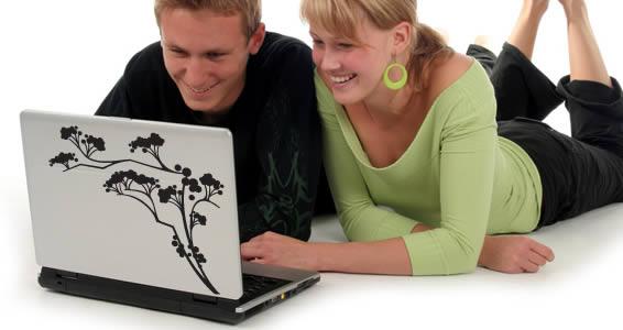 Japan Branch -laptop skins decals